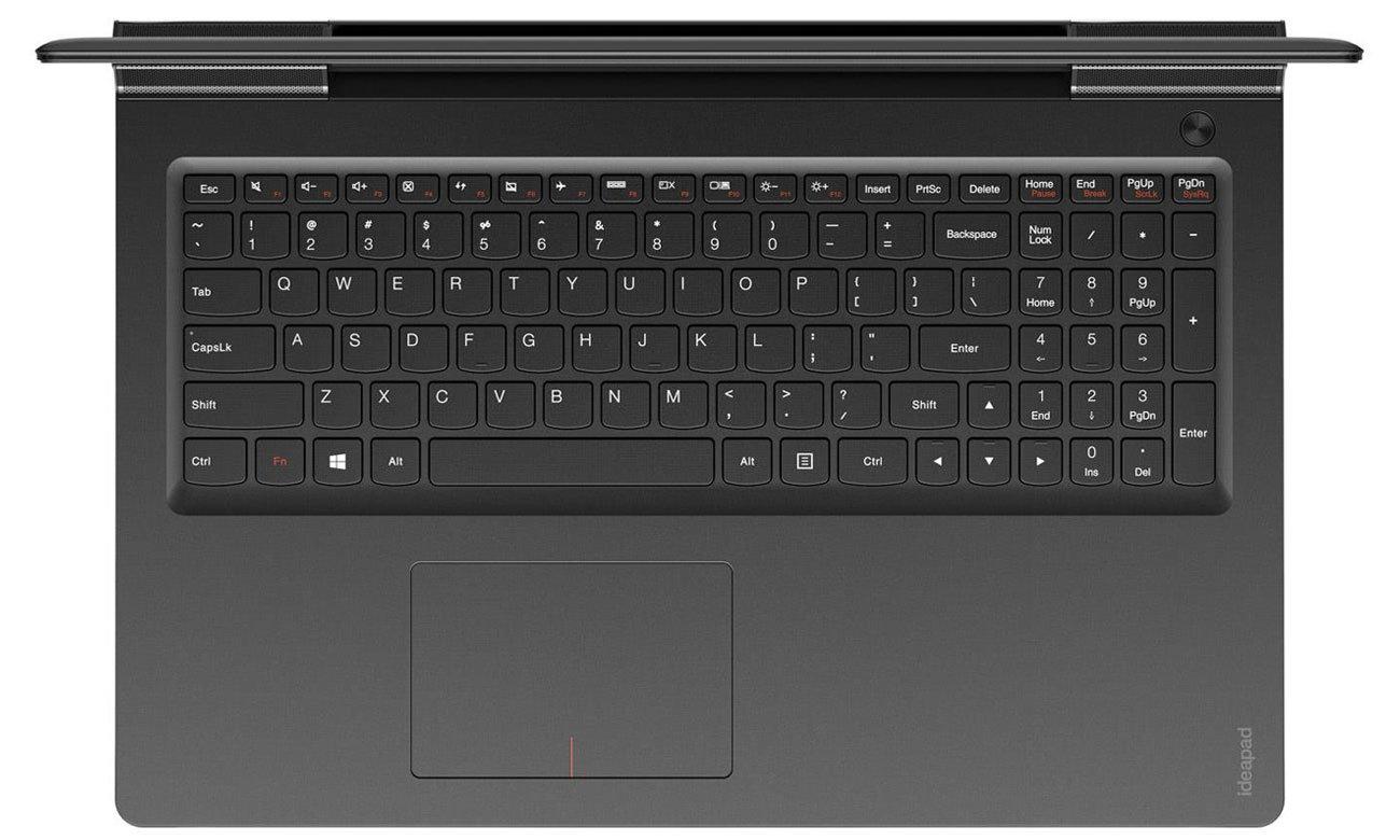 Laptop Lenovo Ideapad 700 podświetlana klawiatura