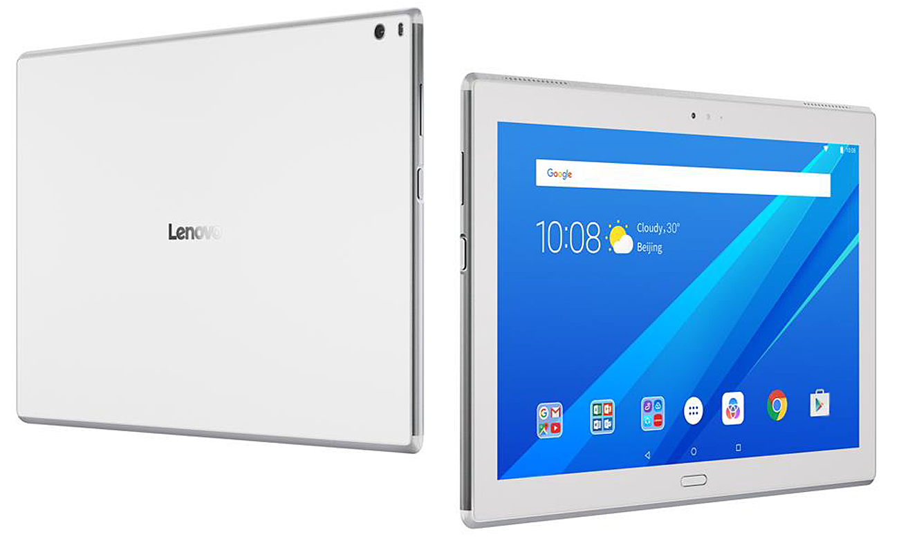 Tablet Lenovo TAB 4 10 Plus Smukły, lekki i pełny mocy