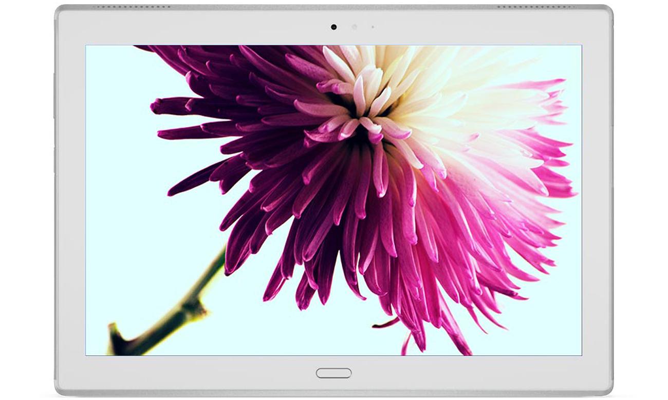 Tablet Lenovo TAB 4 10 Plus Olśniewający, wyrazisty wyświetlacz