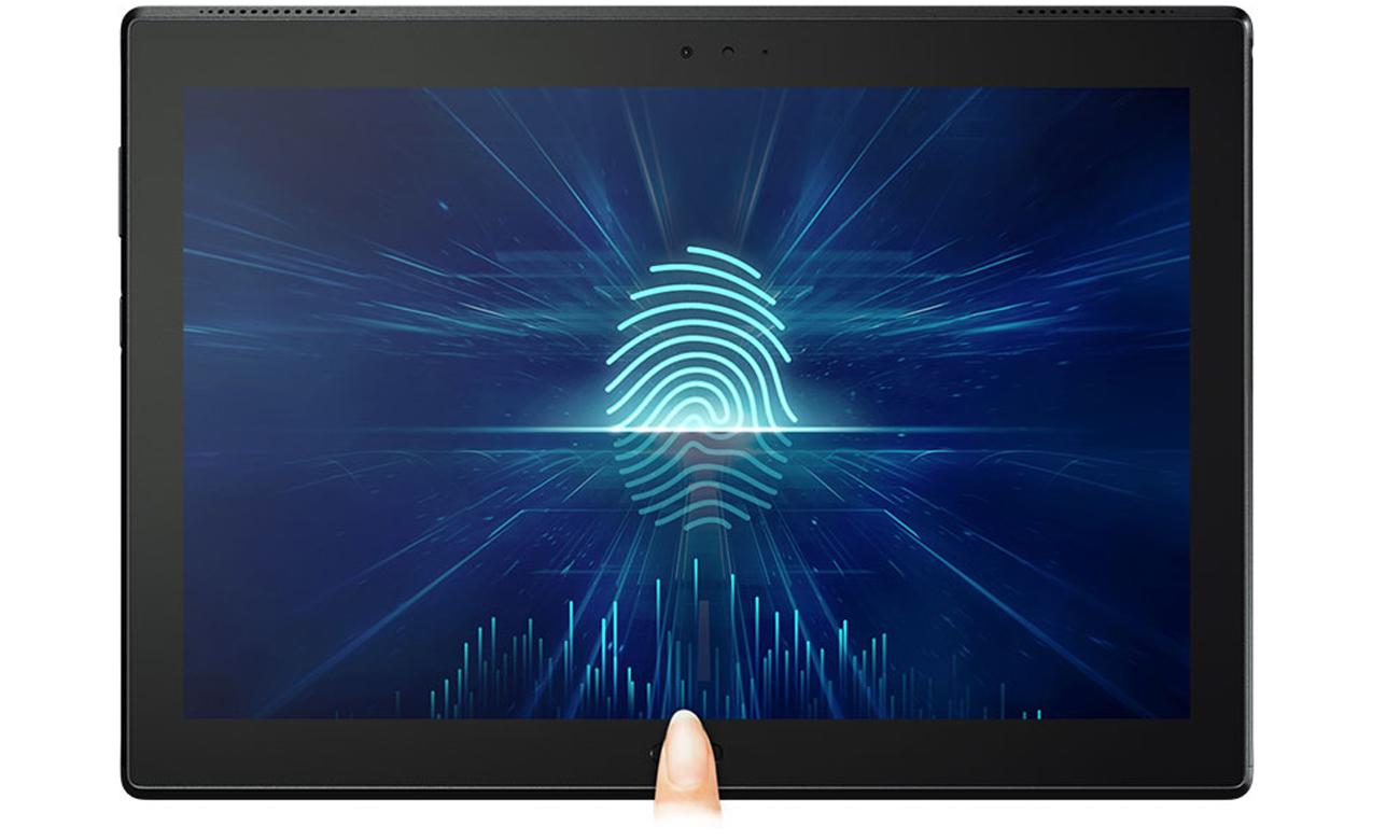 Tablet Lenovo TAB 4 10 Plus czytniki linii papilarnych