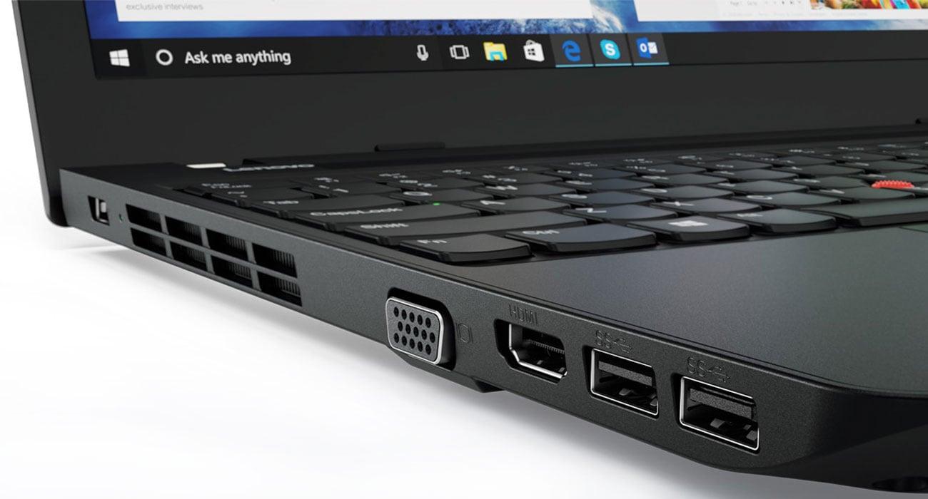 lenovo ThinkPad Edge E570 smukłość i bezpieczeństwo