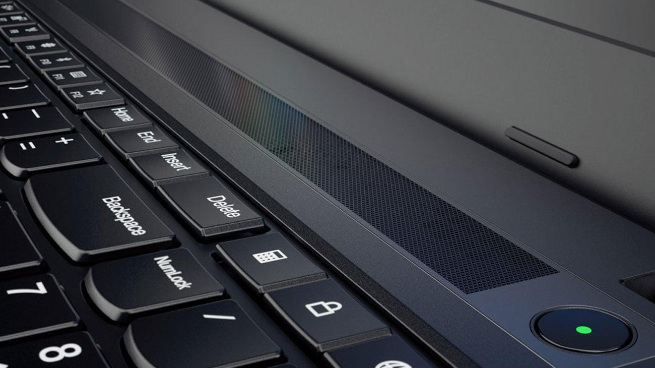 lenovo ThinkPad E570 dźwięk przestrzenny
