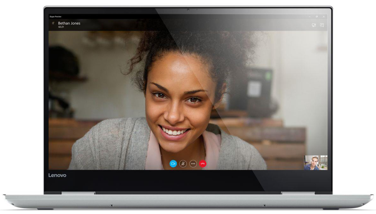 Lenovo YOGA 720 obraz o rozdzielczości Full HD