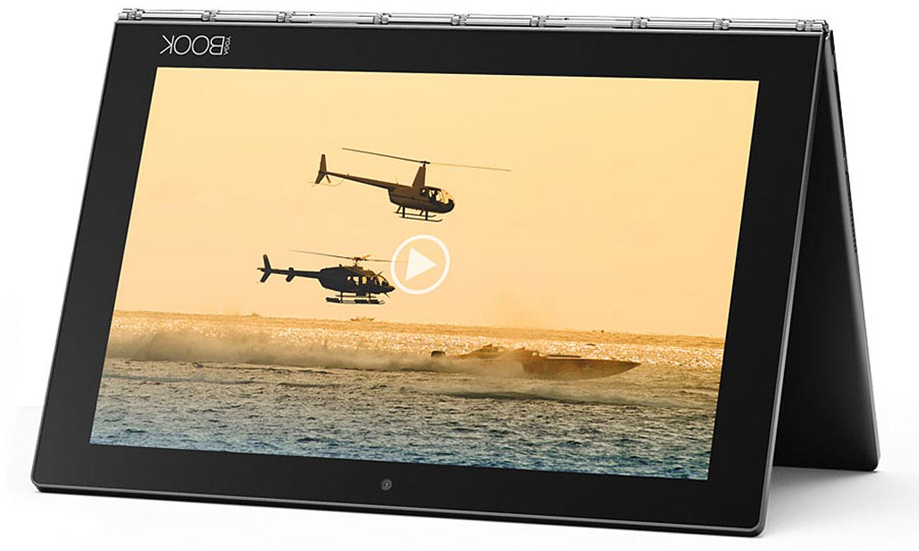 Lenovo YOGA Book ekran IPS FullHD, głośniki Dolby Atmos