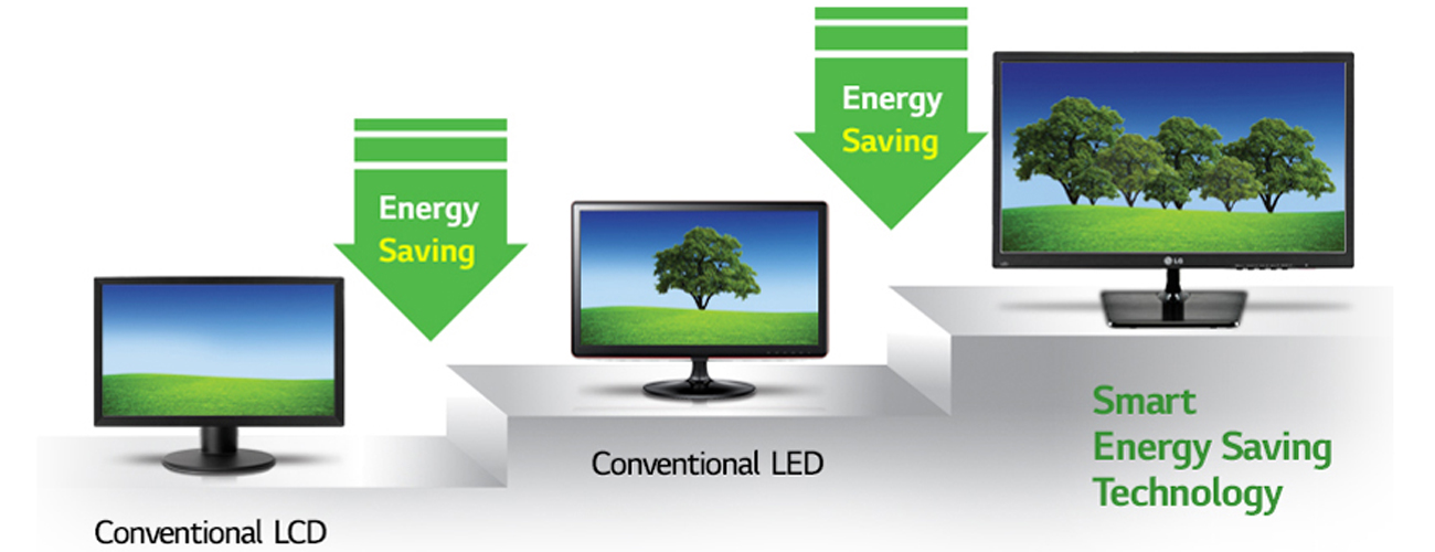 LG 24MP58VQ-P Smart Energy Saving