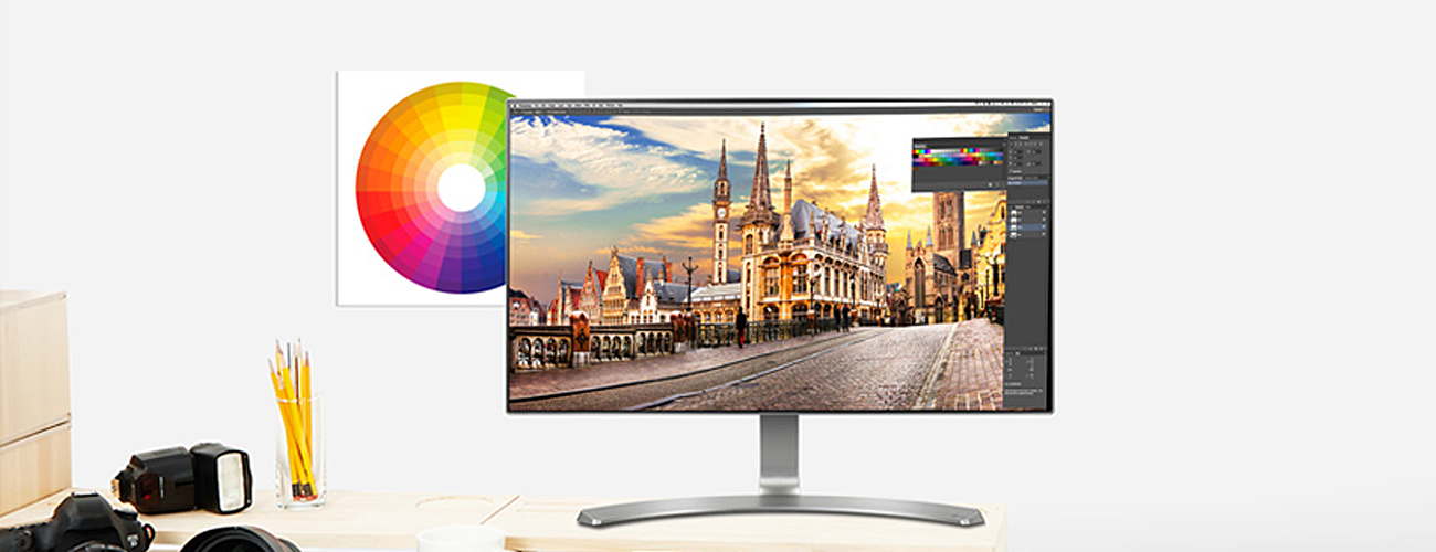 Monitor do domu i do biura LG 24MP88HV-S