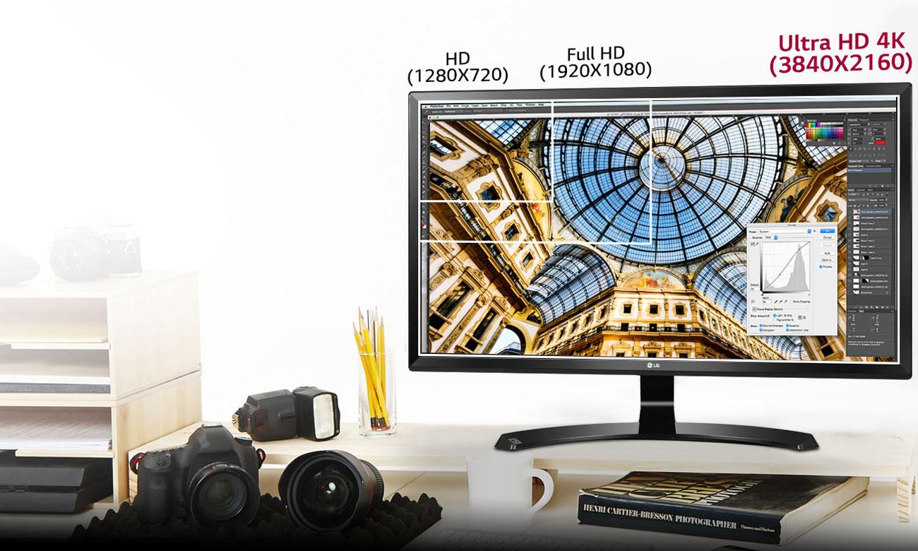 LG 27UD59-W 4K Doskonała jakość obrazu