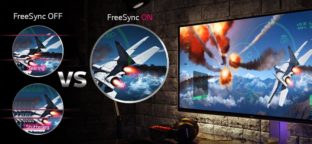LG 27UD88-W Technologia FreeSync