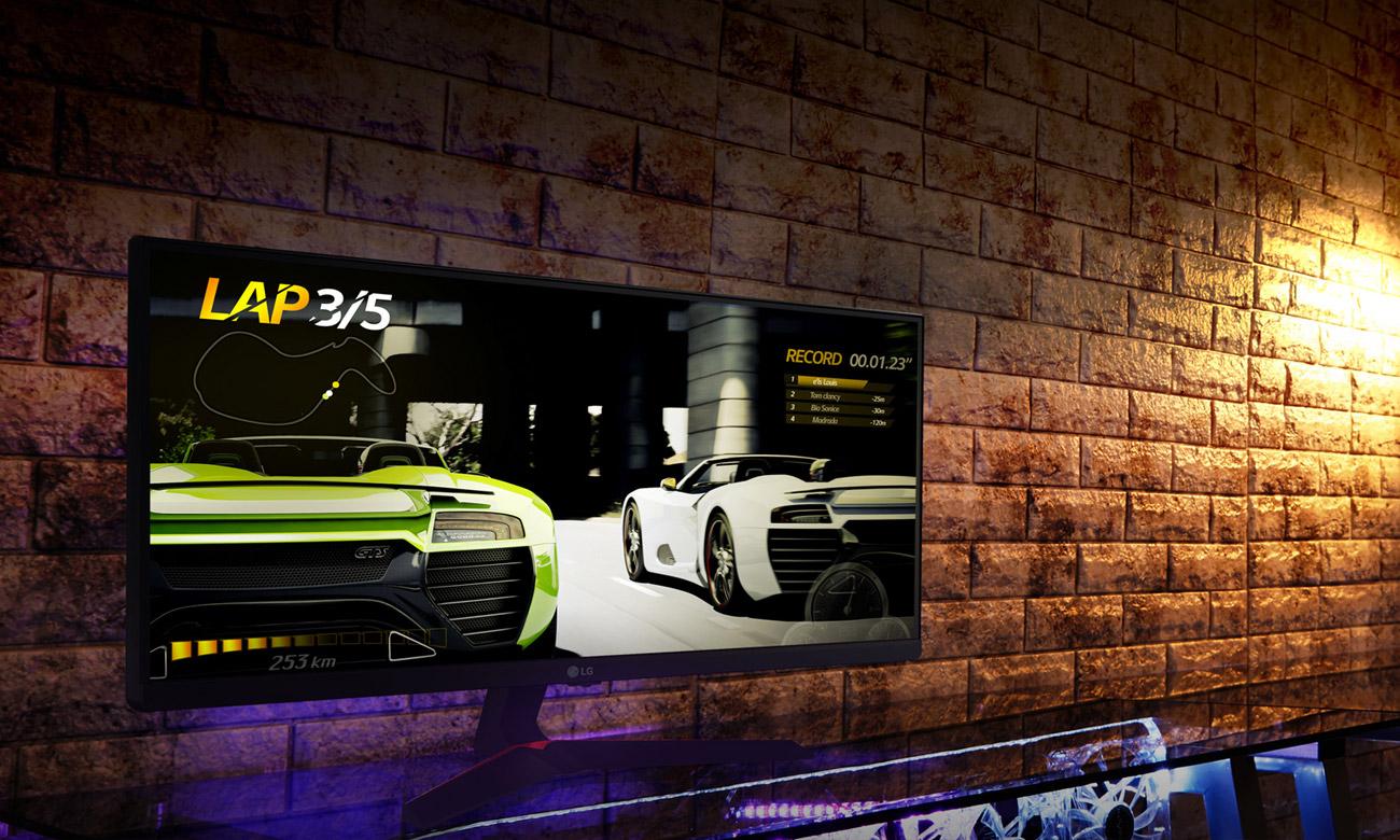 LG 34UM69G-B Ultraszeroki 21:9 IPS z funkcją 1ms Motion Blur Reduction