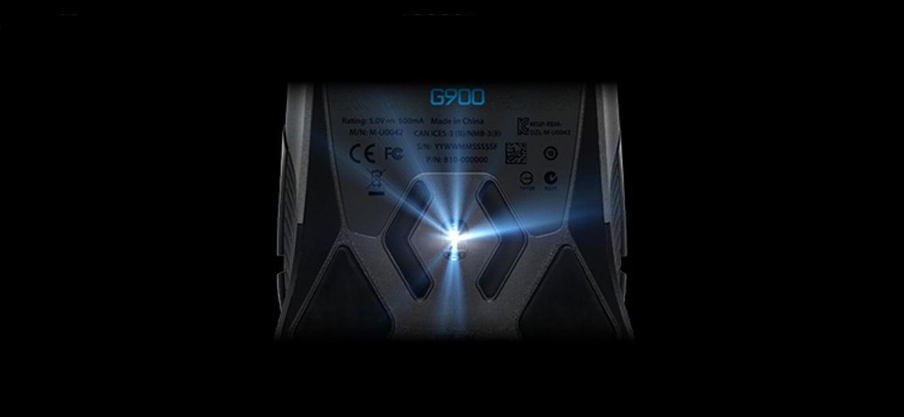 Logitech G900 Chaos Spectrum EER2 precyzja