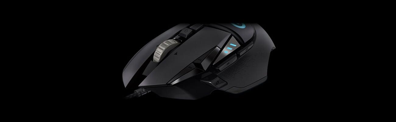 Logitech G502 Proteus Spectrum Gaming Mouse RGB 11 przycisków