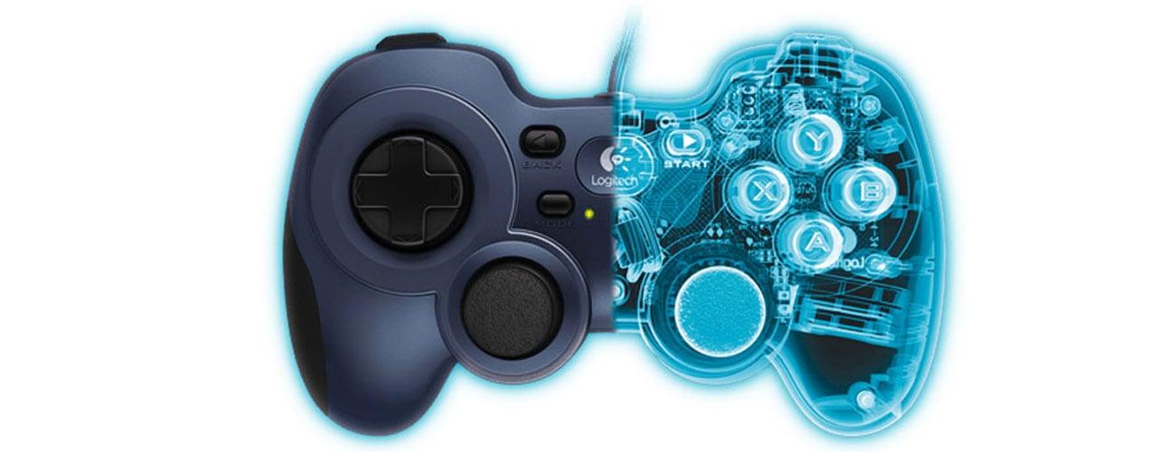 Logitech F310 Obsługa wielu gier