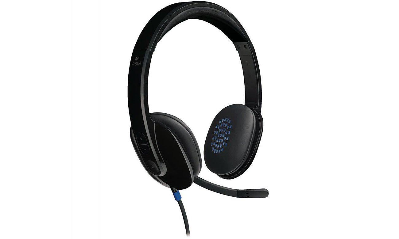 Logitech H540 Headset Bogaty dźwięk stereo