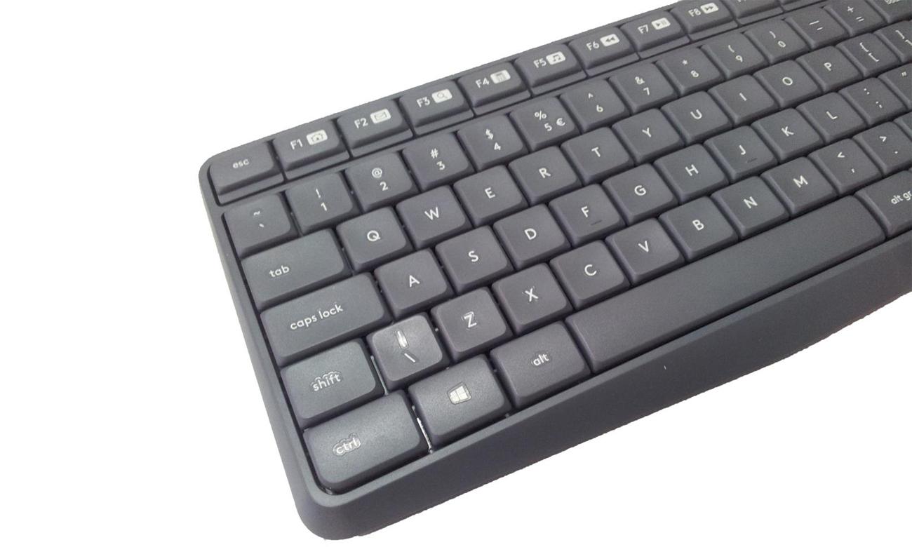 Zestaw klawiatura i mysz Logitech MK235 Wydłużona żywotność baterii