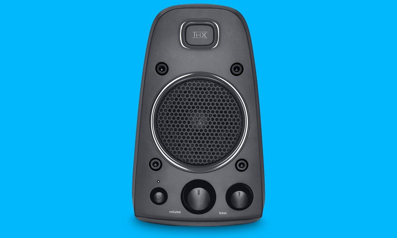 Logitech Z625 THX Speaker System Dźwięk z certyfikatem THX