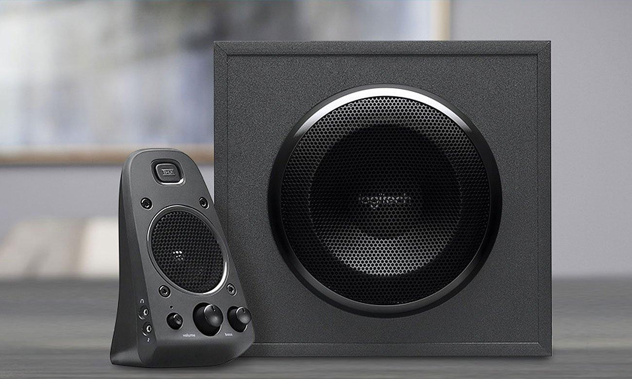 Logitech Z625 THX Speaker System Wszechstronne opcje połączeń, Obsługa do trzech zgodnych urządzeń