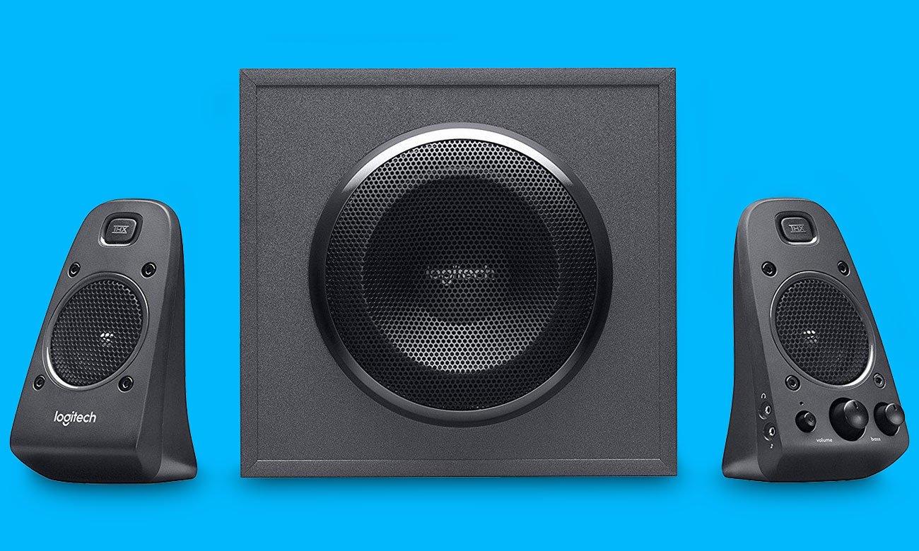 Logitech Z625 THX Speaker System Elementy sterujące tuż pod palcami, Dodatkowe wejścia