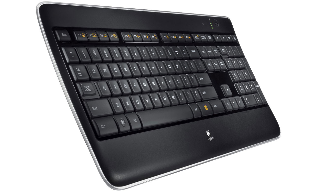 Logitech Wireless Illuminated Keyboard K800 Dopracowana w każdym calu
