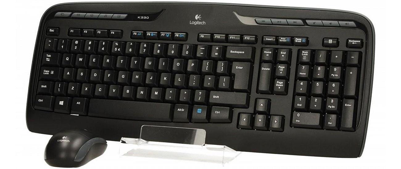 Logitech MK330 Wireless Desktop Połączenie bezprzewodowe