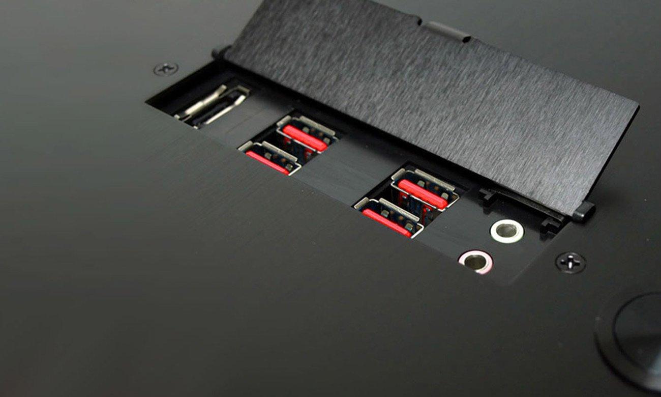MSI B150M MORTAR Wyjścia dla frontowych gniazd USB 3.1 GEN1