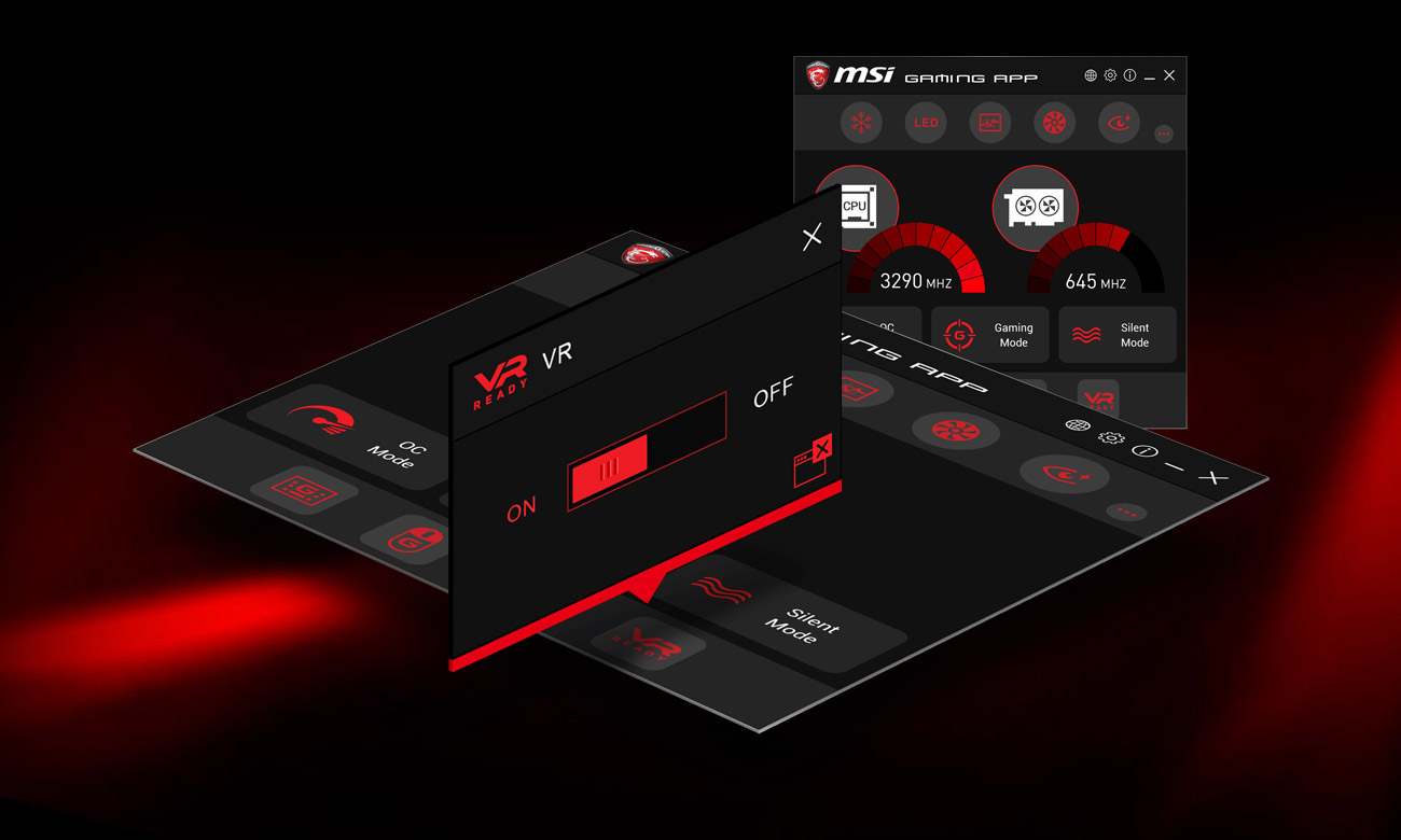 MSI B350 GAMING PLUS One Click to VR