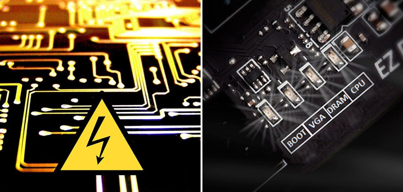 MSI B350M BAZOOKA EZ Debug LED