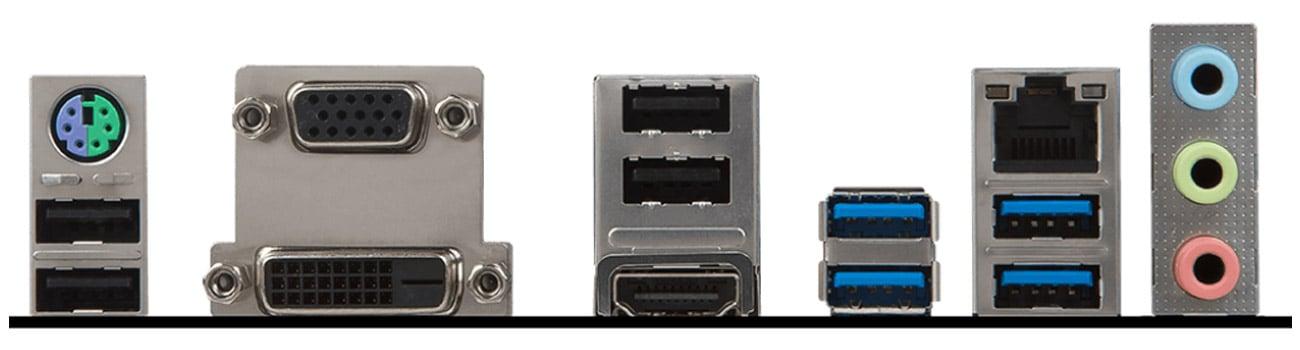 MSI B350M PRO-VDH Złącze HDMI 4K