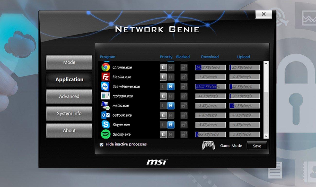 MSI B350M PRO-VDH sieć LAN