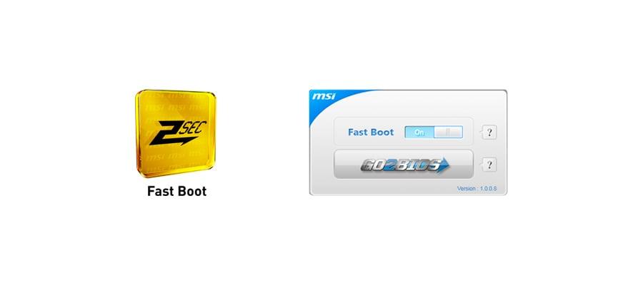 MSI B85M-G43 - Fast Boot