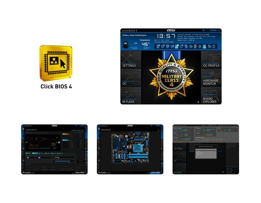 MSI B85M-G43 - Click BIOS 4
