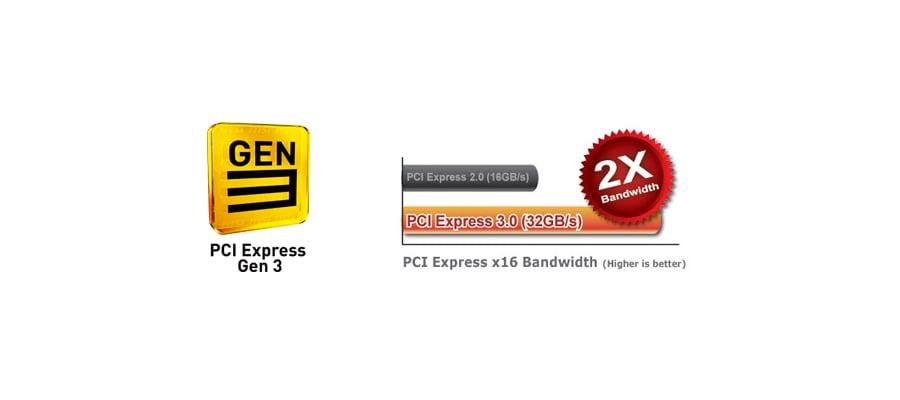 MSI B85M-G43 - PCI Express Gen 3