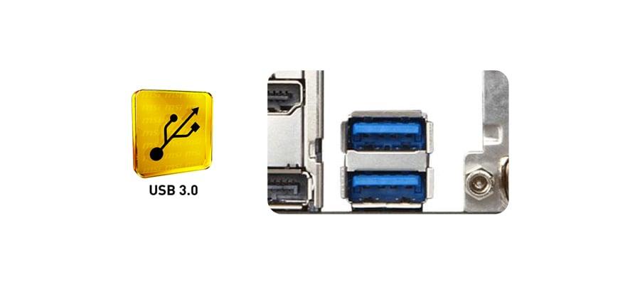 MSI B85M-G43 - USB 3.0