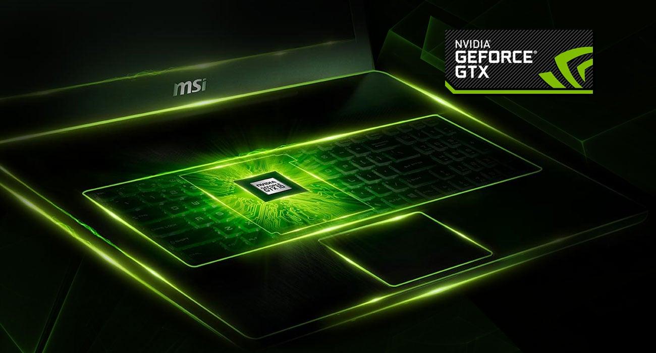 MSI GE62 7RE GeForce GTX 1050 Ti