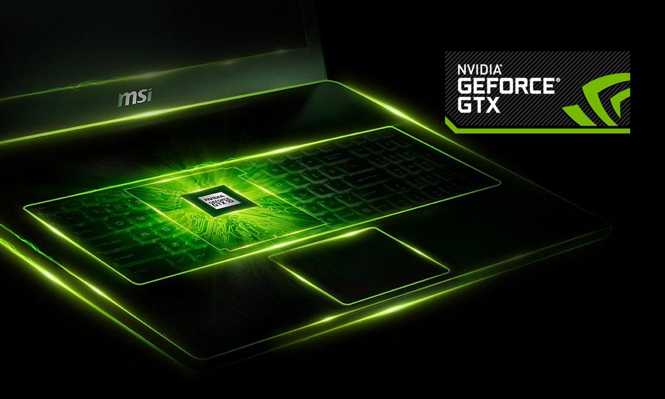 MSI GE72 7RD GeForce GTX 1050