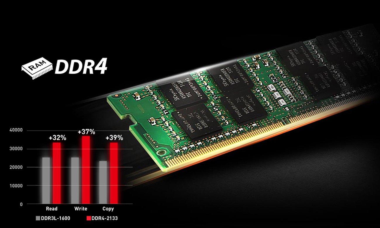 MSI GL62 6QF DDR4-2133 MHz