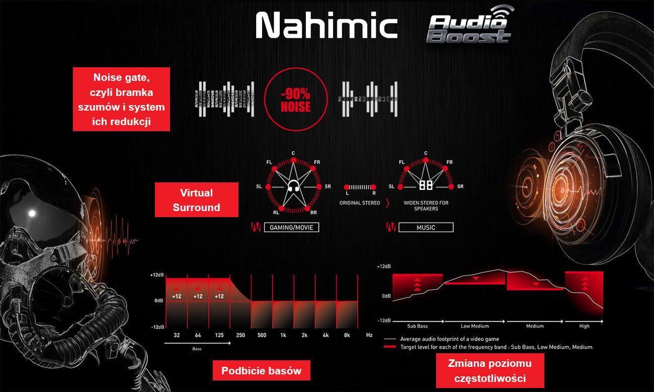 MSI GL62M 7RD Nahimic, audio boosty