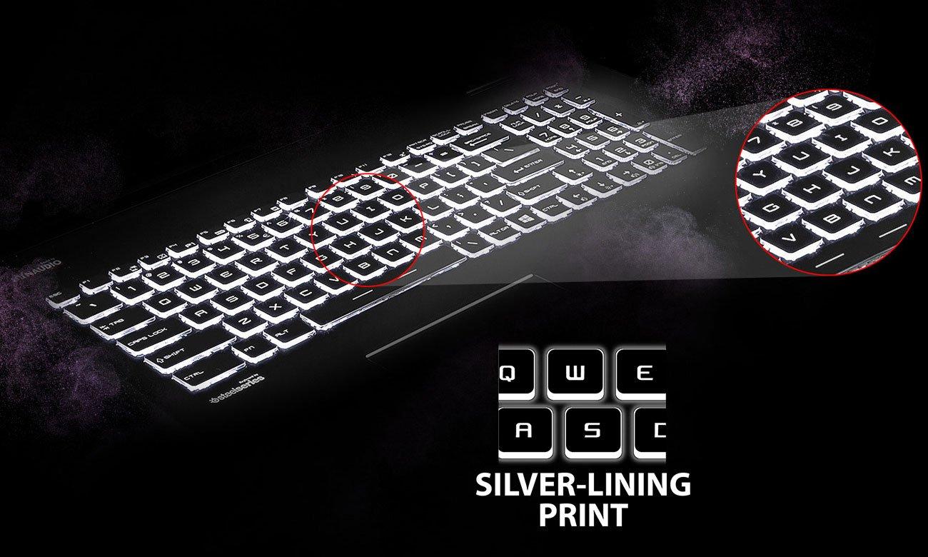 MSI GP62 7RD Silver Lining Print