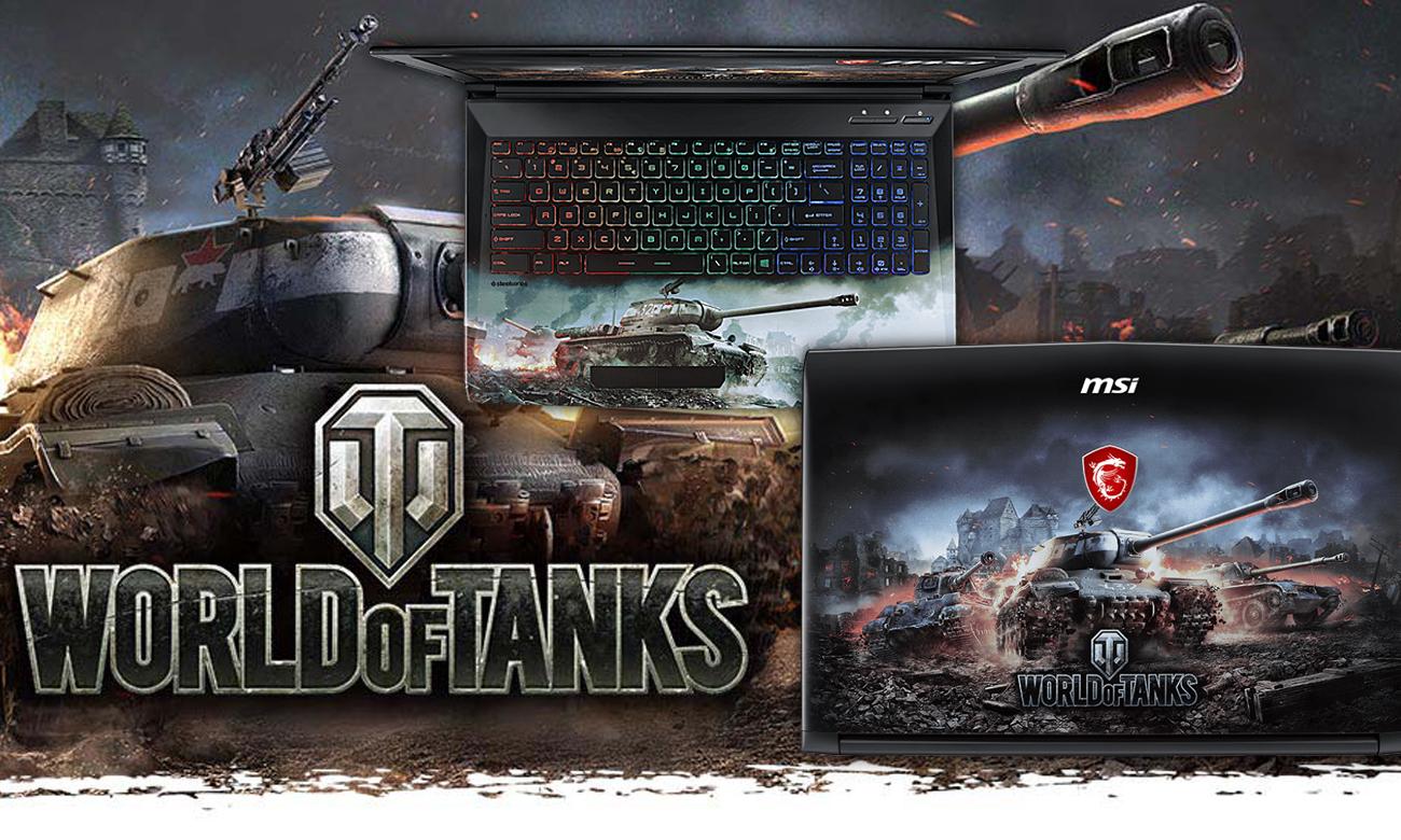 MSI GP62M 7REX WOT Edition світ танків