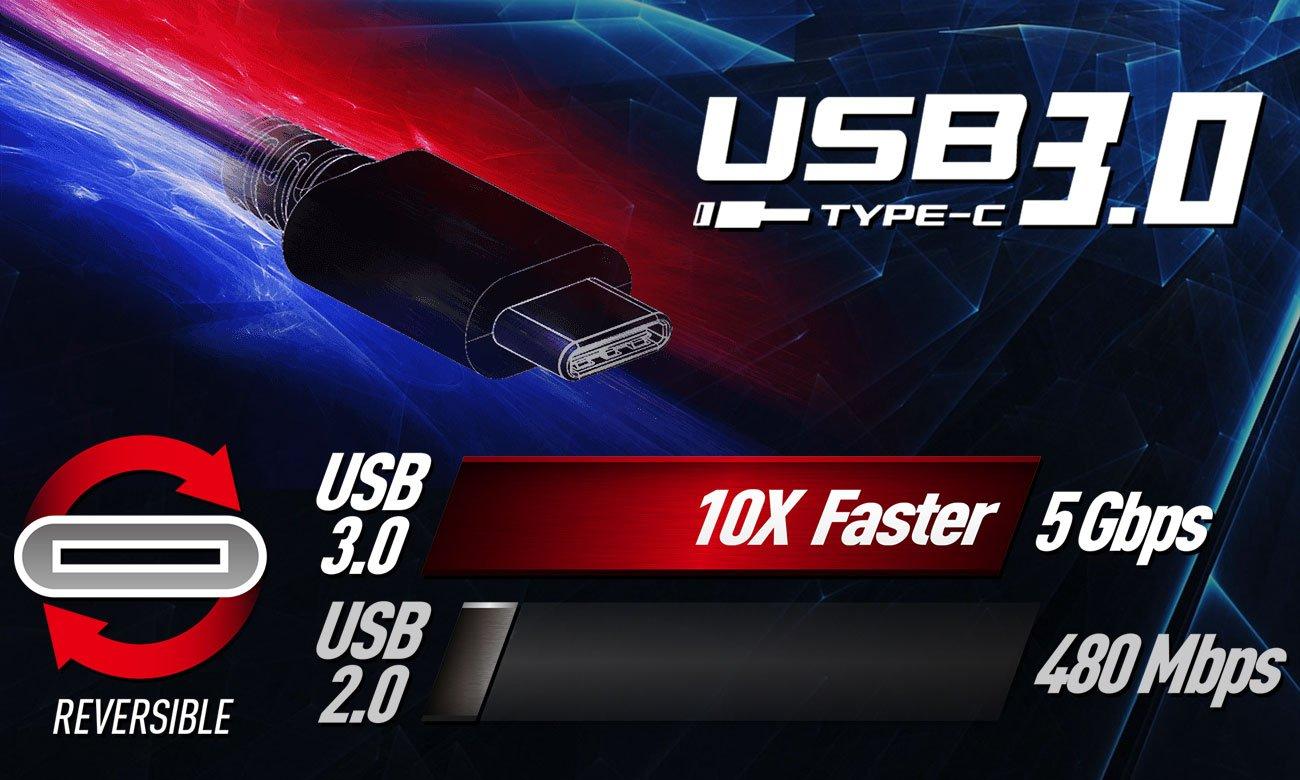 MSI GP72MVR USB Typu-C