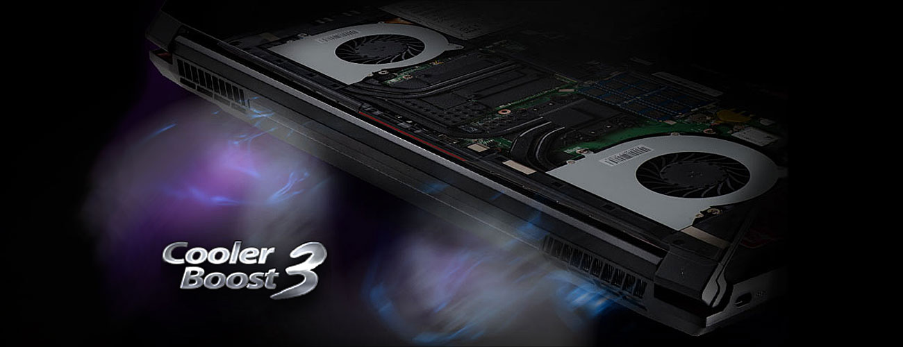MSI GS40 6QD Cooler Boost 3