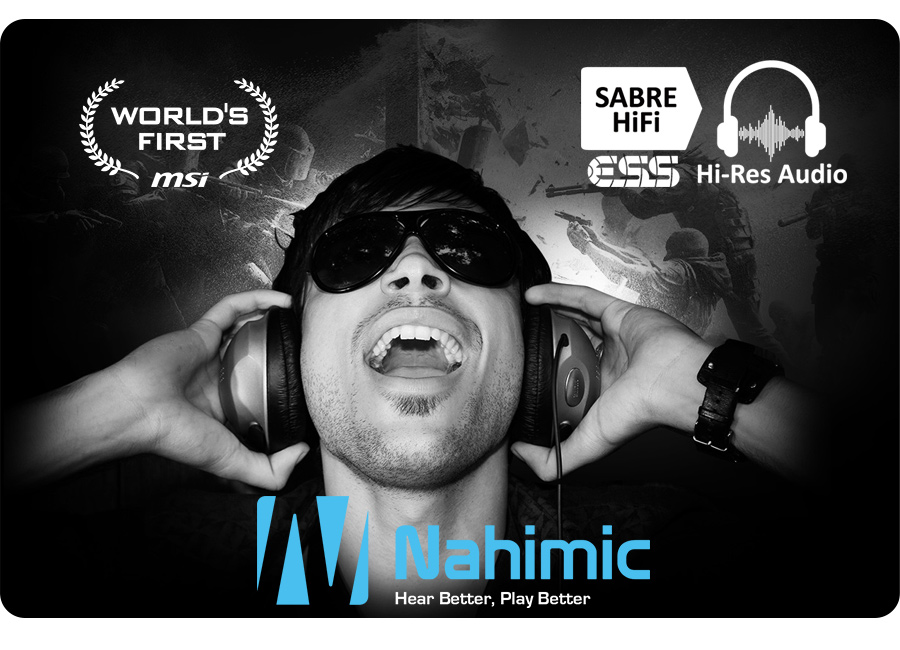 AUDIO ESS SABRE HIFI, Nahimic Audio Enhancer 2