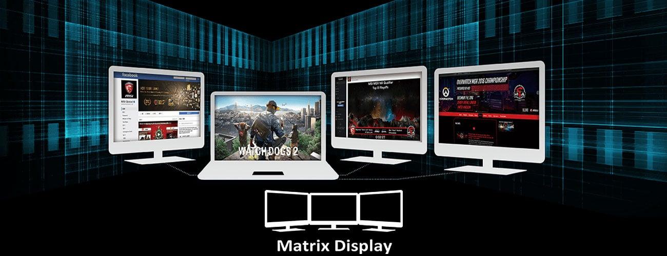 Матричний дисплей MSI GS60 6QD