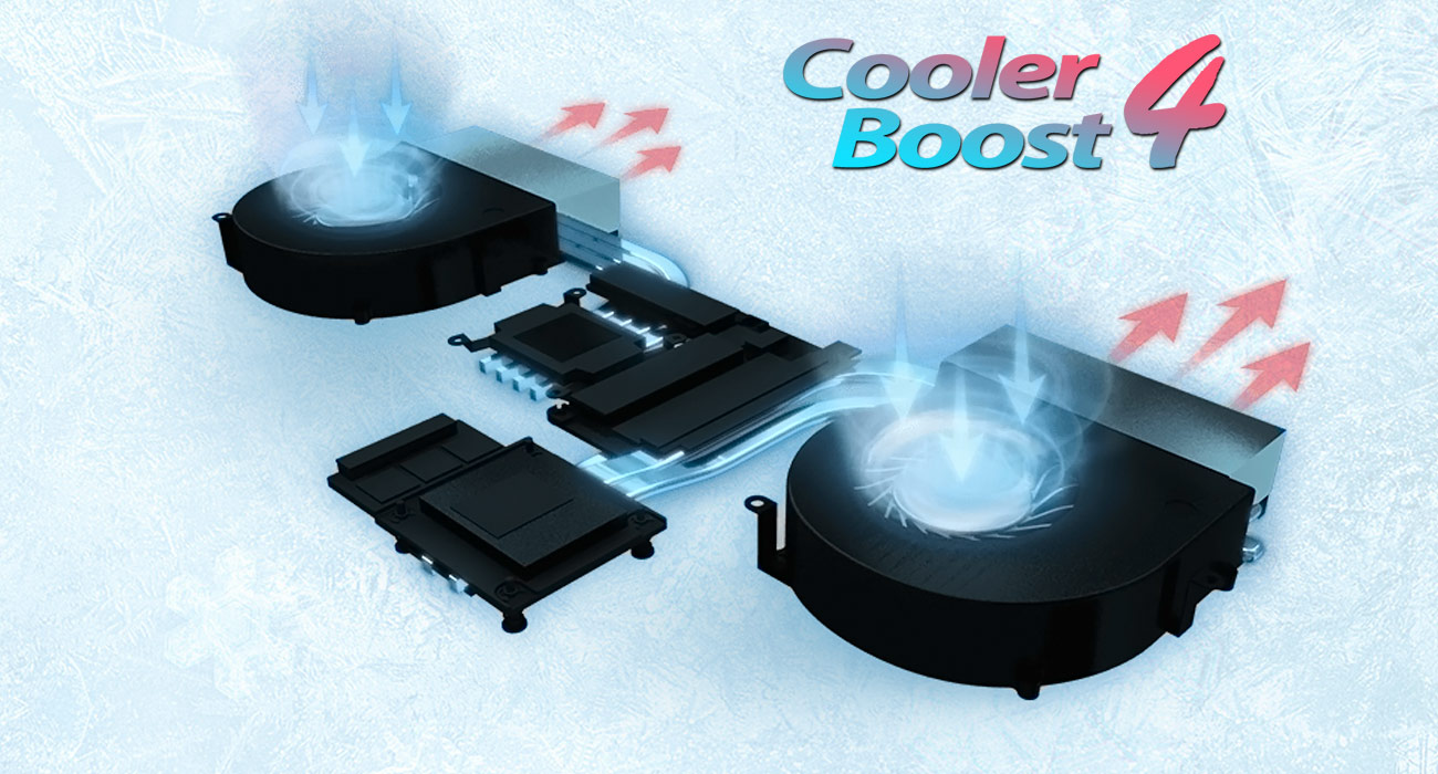 MSI GT62VR 7RD Cooler Boost 4