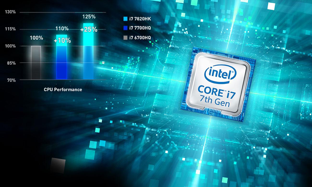 MSI GT62VR 7RE Intel Core i7-7gen
