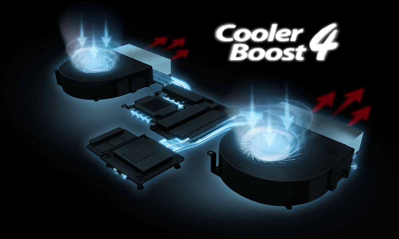 MSI GT62VR 7RE Cooler Boost 4