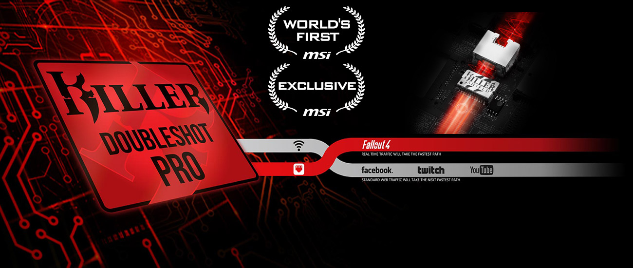 MSI GT72VR 7RD DoubleShot Pro+Killer Shield
