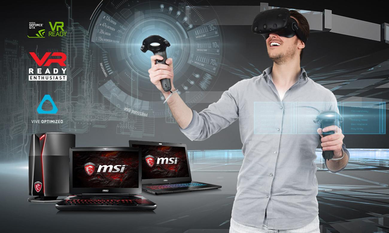 MSI GT72VR 7RD VR READY