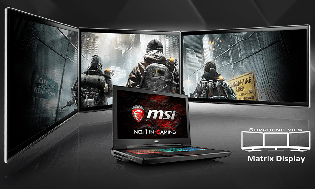 MSI Titan GT73EVR 7RD Matrix Display