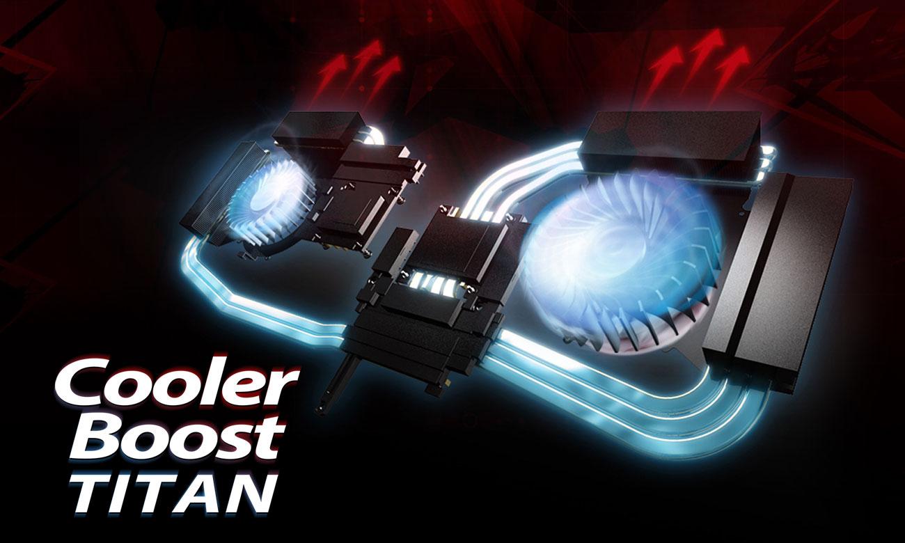 MSI Titan GT73EVR 7RD Cooler Boost Titan