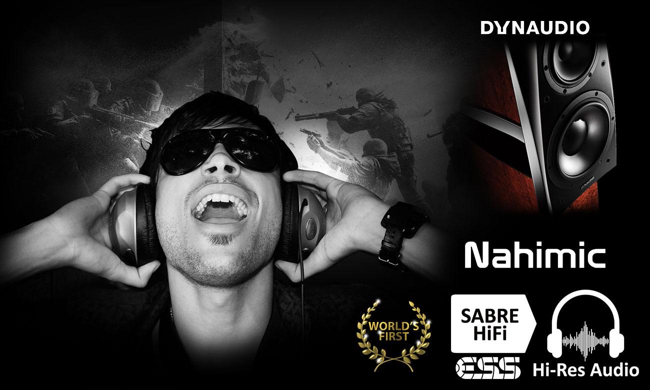 Nahimic&SABRE Hi-Fi